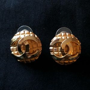 Chanel Earrings (unsure of authenticity.)